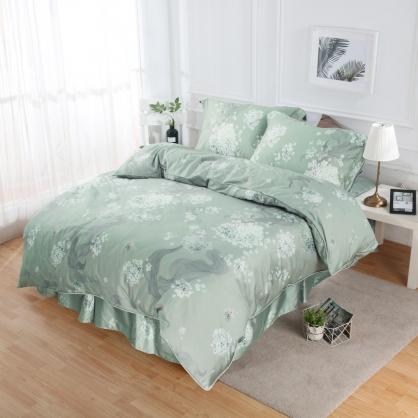 月清飄香60支紗萊賽爾天絲床罩組-加大