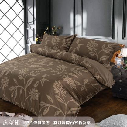 夜色天香海島棉四件式床罩組-加大
