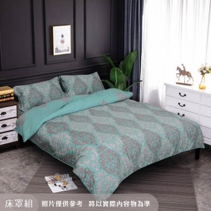 清水風韻細棉天絲四件式床罩組-雙人