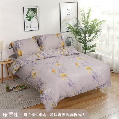鳩心歲月細棉天絲四件式床罩組-特大