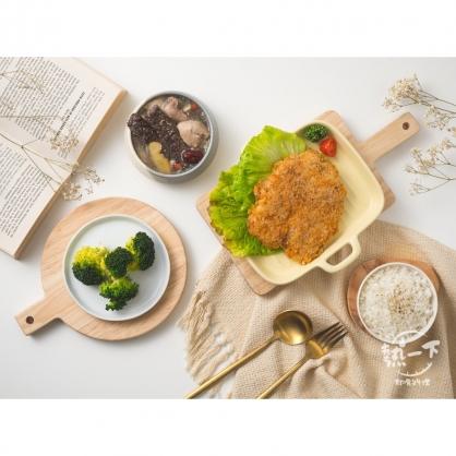單身貴族餐(炸豬排)