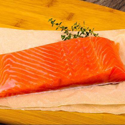 鮭魚菲力(銀鮭魚柳)/包 [E059]