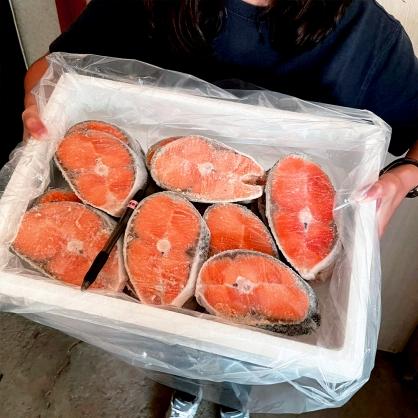 鮭魚薄切30P/箱 (整箱出貨) [E061]