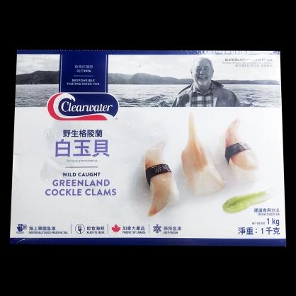 (清水牌)格陵蘭生食級白玉貝(白鳥貝)/盒 [N046]