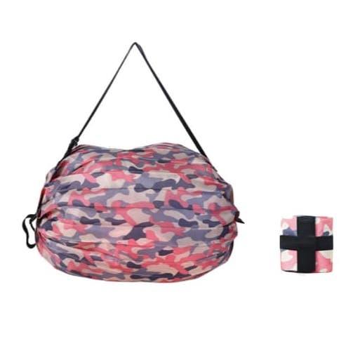 手提側揹折疊購物袋春卷包