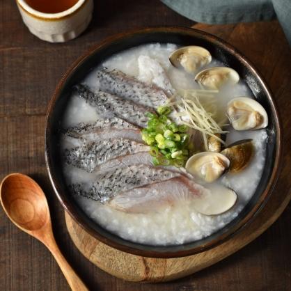 無刺鱸魚粥