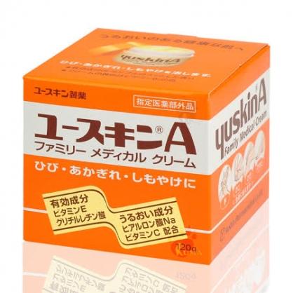 悠斯晶A護膚乳霜120g