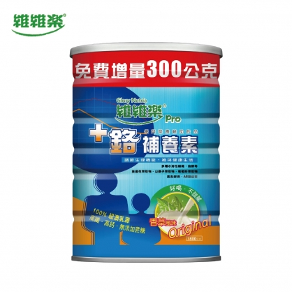 維維樂+鉻補養素1800g(香草)