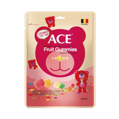 ACE水果Q軟糖 量販包240g X 1包