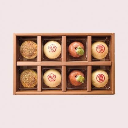 老餅新味綠豆椪8入禮盒