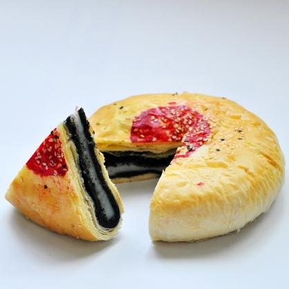 黑芝麻Q餅|手工中式喜餅漢餅系列/奶素
