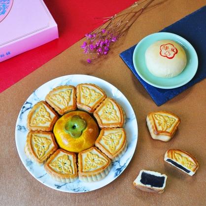 客製化—八珍玉食喜餅禮盒|手工中式喜餅漢餅系列